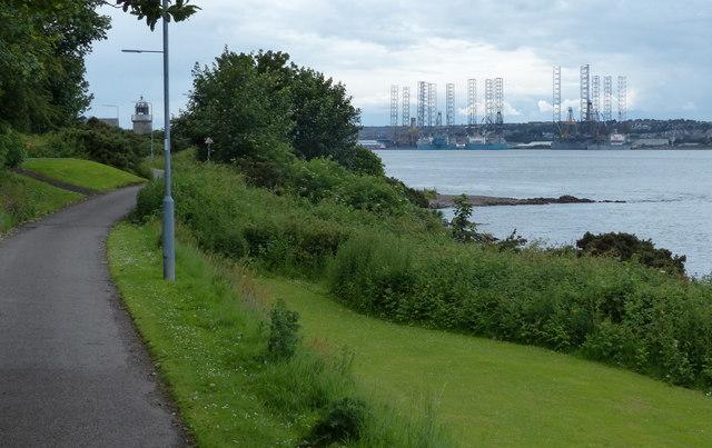Fife Coastal Path at Tayport