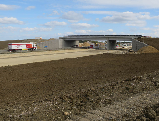 New bridge over A14