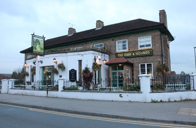 The Hare and Hounds, Sunbury Common