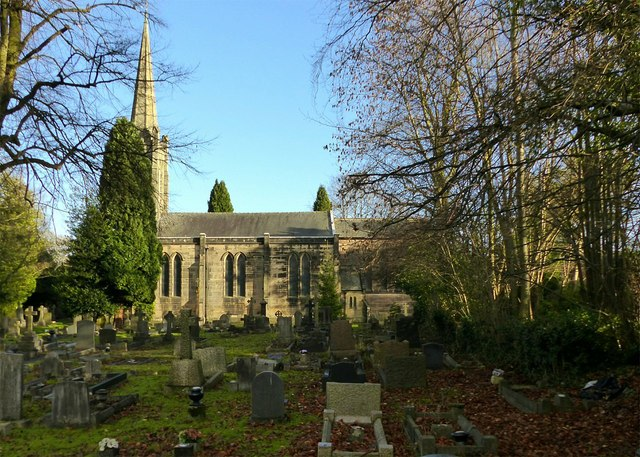 Church of St James, Riddings
