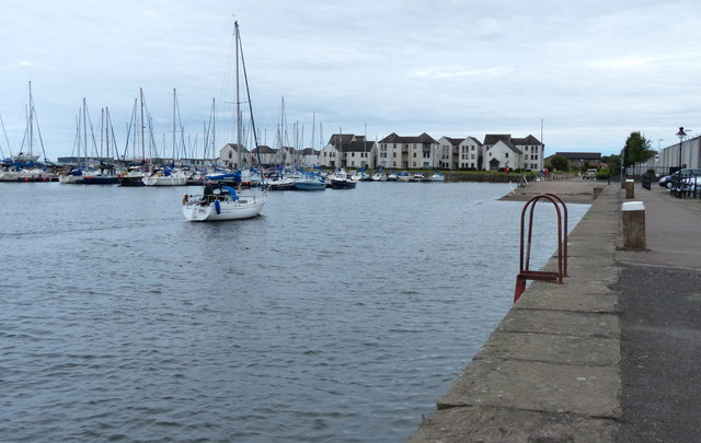 The harbour at Tayport