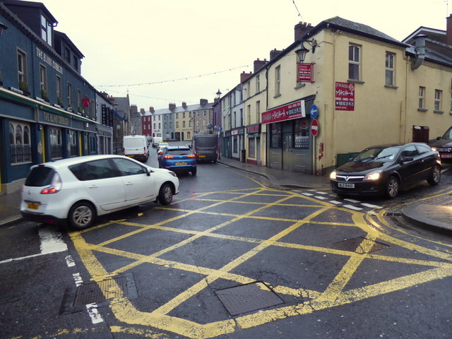 Boc junction, John Street, Omagh