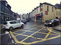 H4472 : Boc junction, John Street, Omagh by Kenneth  Allen