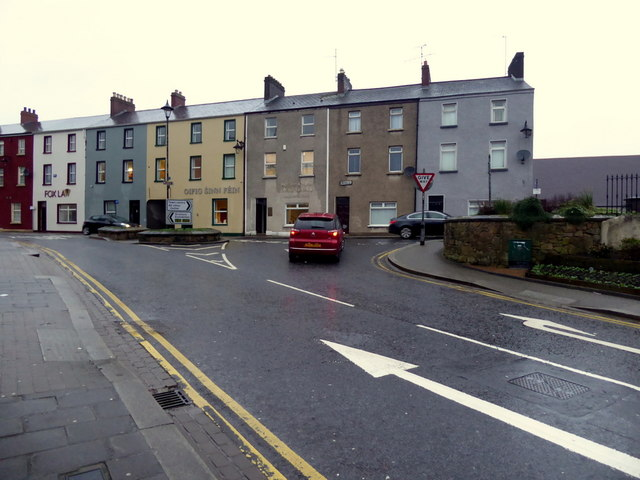 John Street / James Street, Omagh