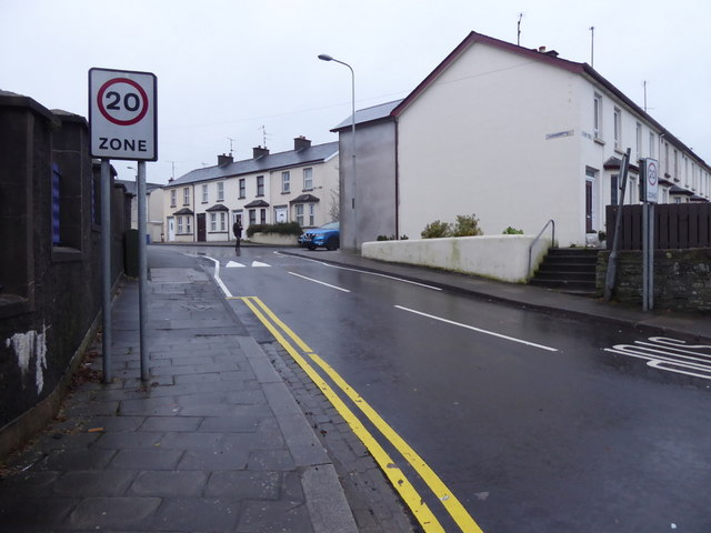 20 Zone, Fairmount Road, Omagh by Kenneth  Allen