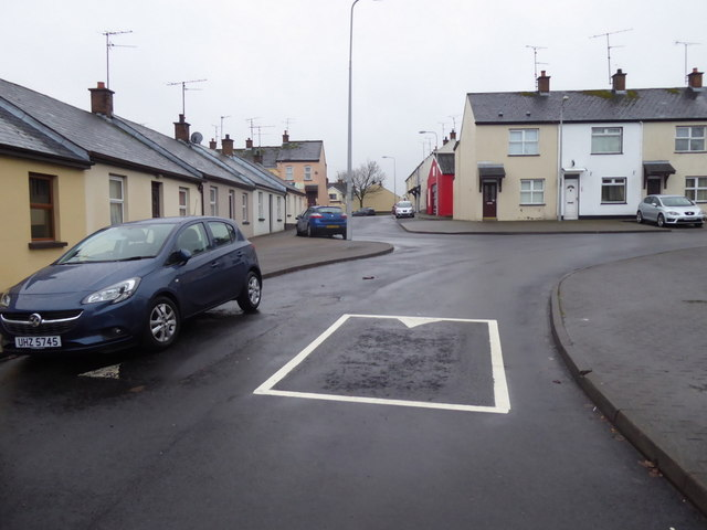 Speed bump, Fairmount Road, Omagh