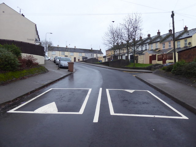 Speed bumps, Fairmount Road, Omagh