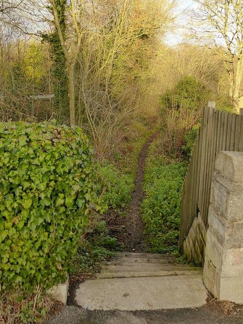 Pinxton Canal Footpath at Pye Bridge