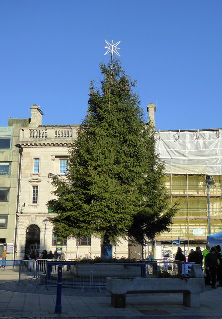 Dover's Christmas tree, Market Square