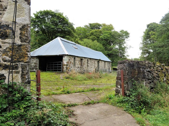 Meall Min Cattle Shed
