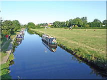 SK5023 : The Zouch Cut near Zouch in Nottinghamshire by Roger  Kidd