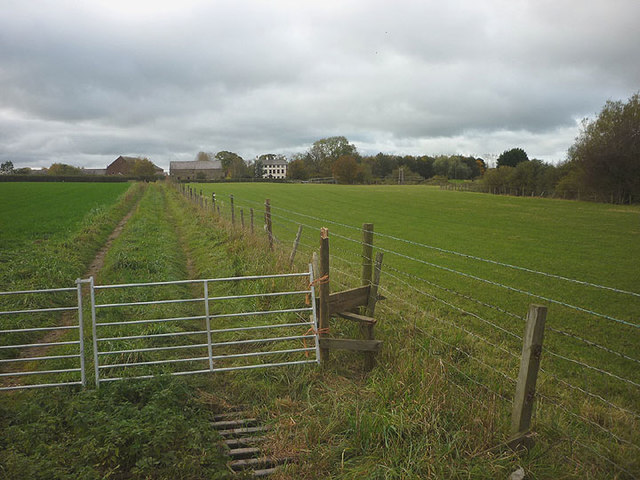 Footpath to Catterall Hall