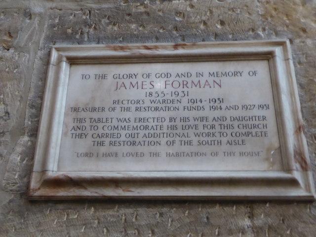 Inside St Peter, Nottingham (VII)