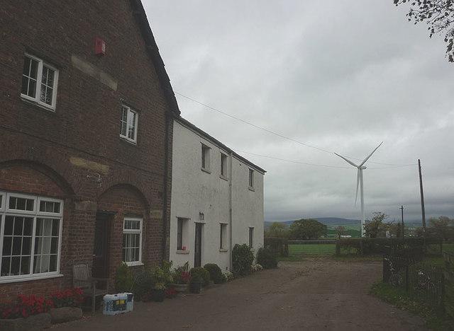 Footpath at Kirkland Hall Farm