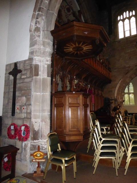 Inside St Peter, Nottingham (XII)