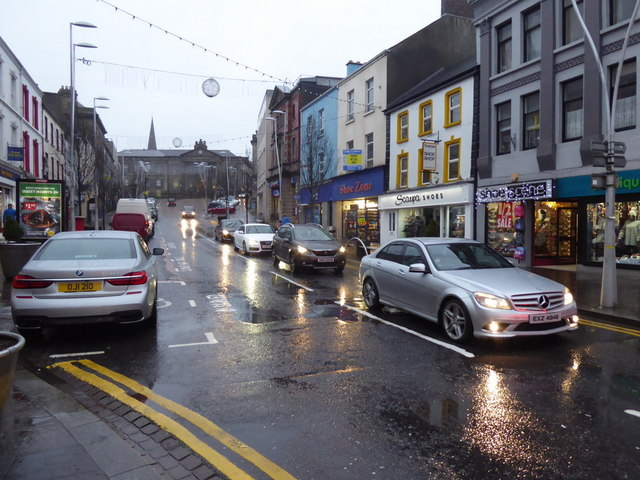Another wet morning, Omagh