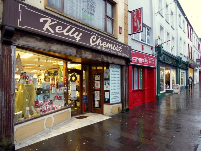 Kelly Chemist, High Street, Omagh