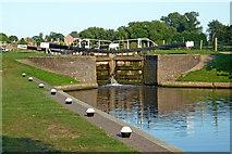 SK5023 : Zouch Lock in Nottinghamshire by Roger  Kidd