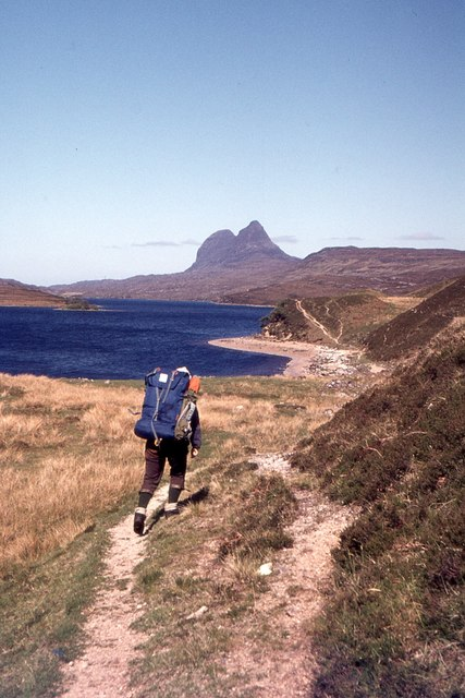 Backpacking to Suilven 1977