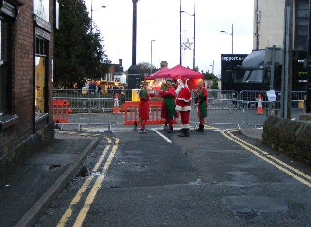 Sedgley Santa and Helpers