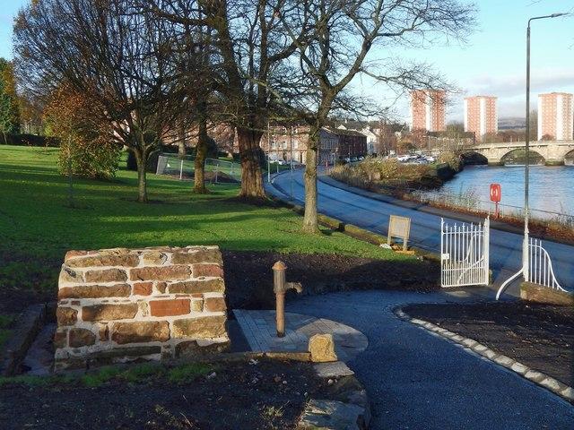 Shear's Well, Levengrove Park