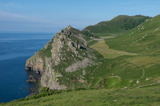 Castle Rock and the Valley of Rocks