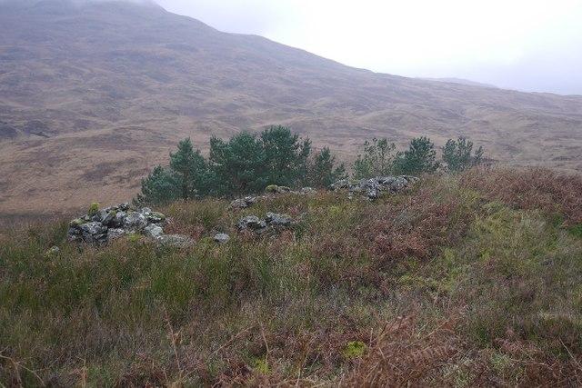 Ruin in Gleann Gaoithe