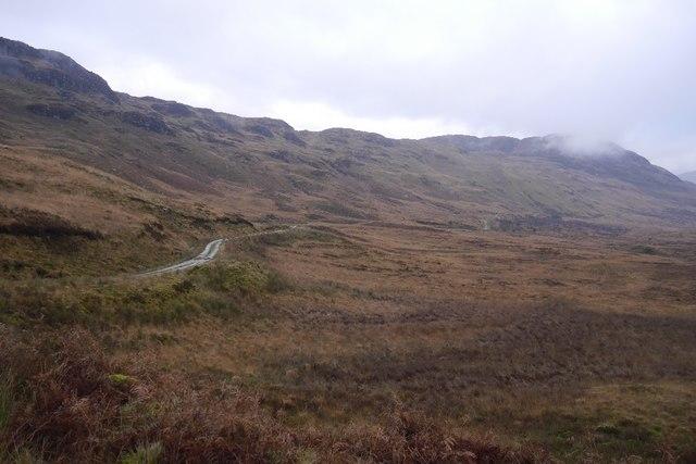 Road in Glenn Gaoithe