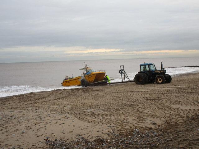 Dragging a fishing boat ashore