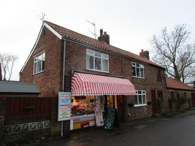 Harrison's Butchers, Rectory Lane, Beeford