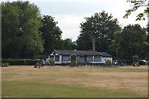 SU7682 : Pavilion, Mill Meadow by N Chadwick