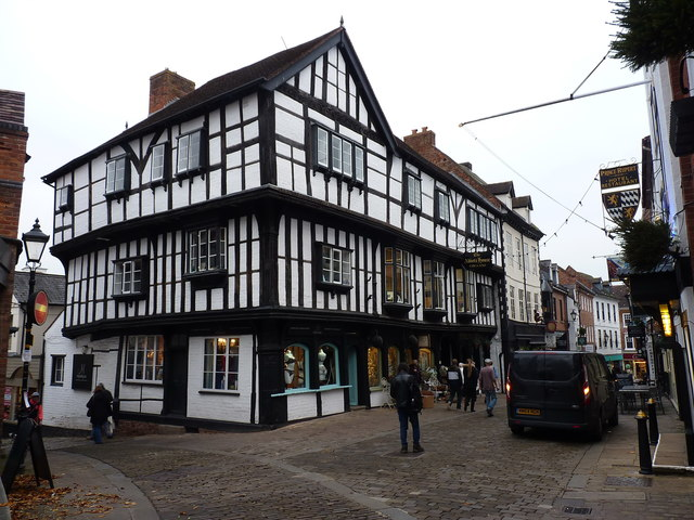 The Abbot's House, Butcher Row, Shrewsbury