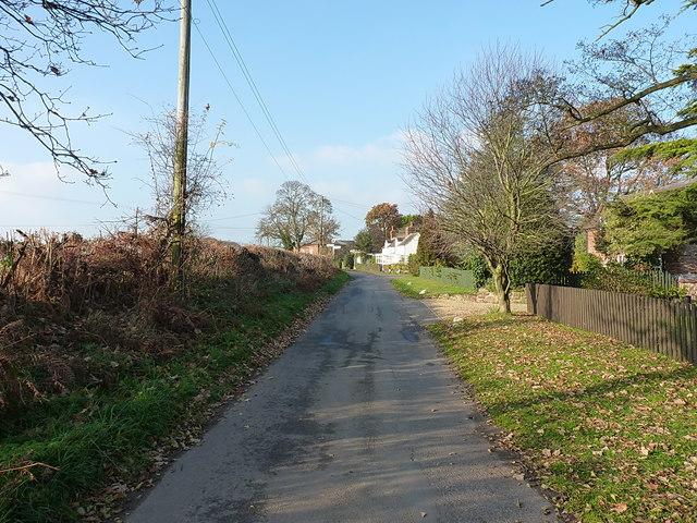 Coming into Ellerdine Heath