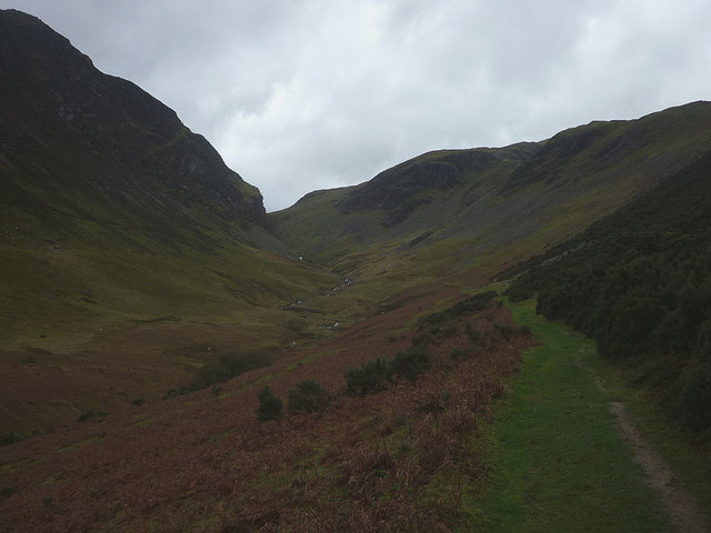 Footpath above Scope Beck