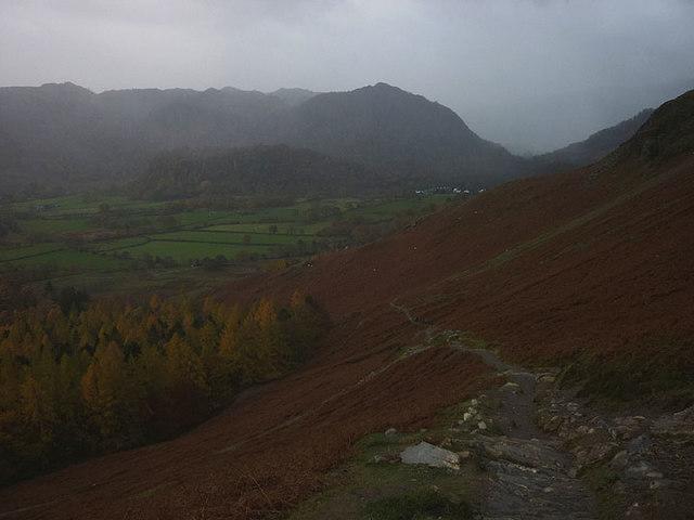 Bridleway above Manesty