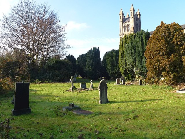 St David's churchyard, Newtown
