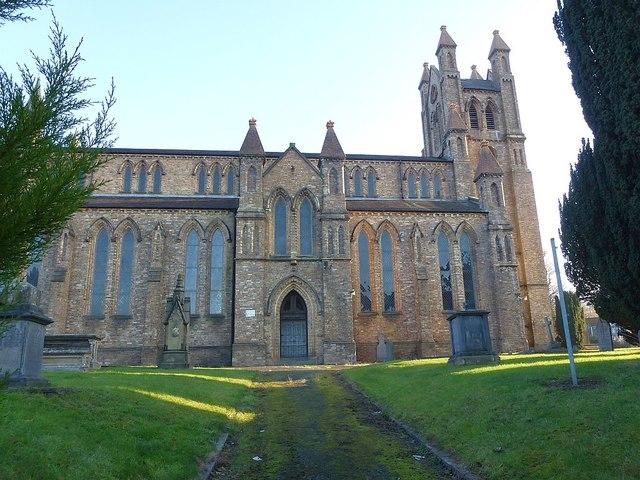 St David's church, Newtown