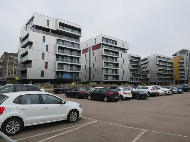 New flats near Carrow Road stadium