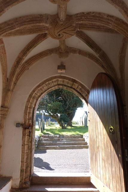 The Church of All Saints, Malborough, Devon