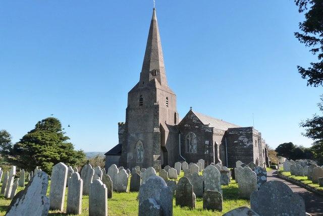 All Saints church, Malborough, Devon