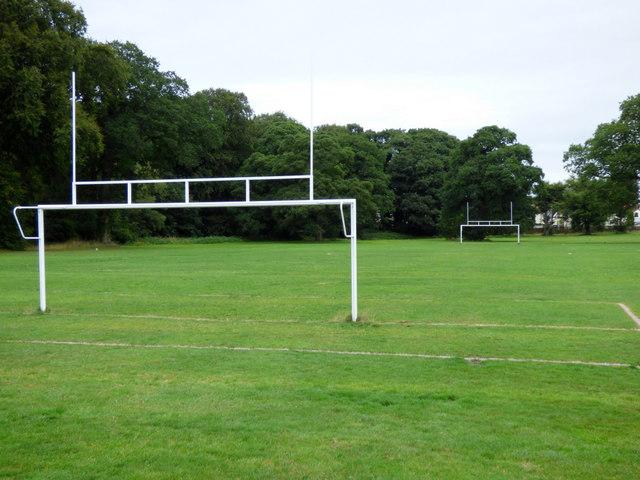 Ayr Academy sports field