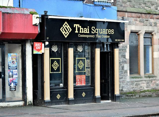 """""""Thai Squares"""", Belfast (December 2018)"""