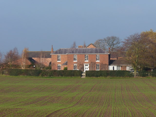 New House Farm from the south