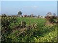 SJ6122 : Oakhouse Farm trig by Richard Law
