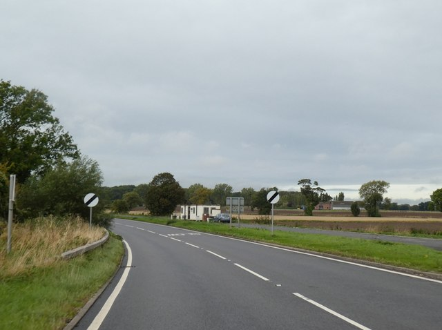 Lay-by by A57 west of Darlton