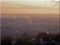 SX9291 : Dawn over Exeter by Chris Allen