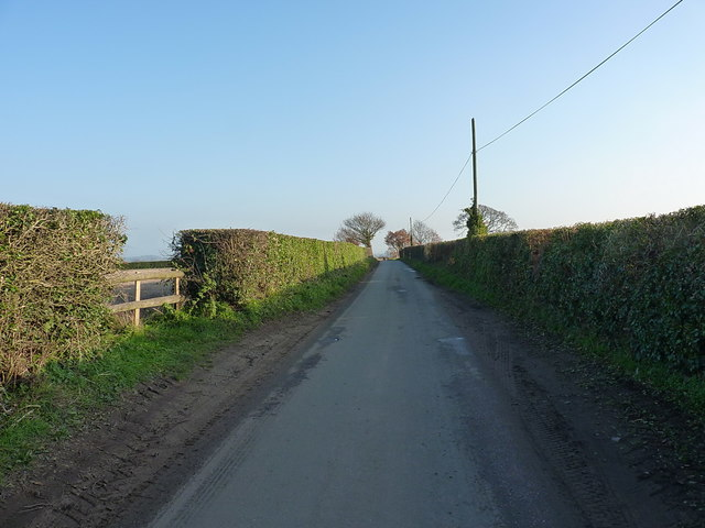 Out of Ellerdine towards the Rowton to Heath Lanes road