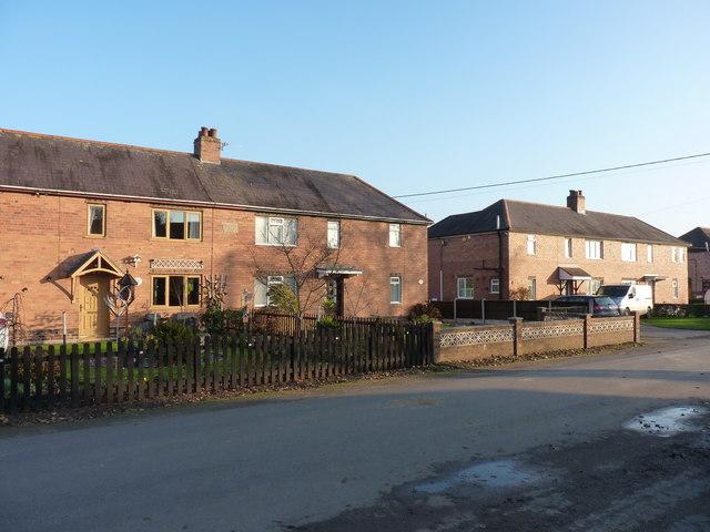 Ex-council housing, Heath Lanes