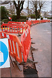 SX9065 : Roadworks, Parkhurst Road, Torre by Derek Harper