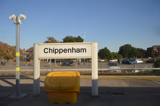 Chippenham Station N Chadwick Geograph Britain And Ireland